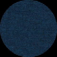 TRETFORD INTERLAND runder Teppich Mitternacht 575 (Ø 200 cm)