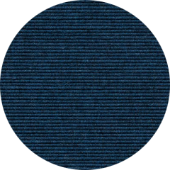 TRETFORD INTERLAND runder Teppich Mitternacht 575 (Ø 400 cm)